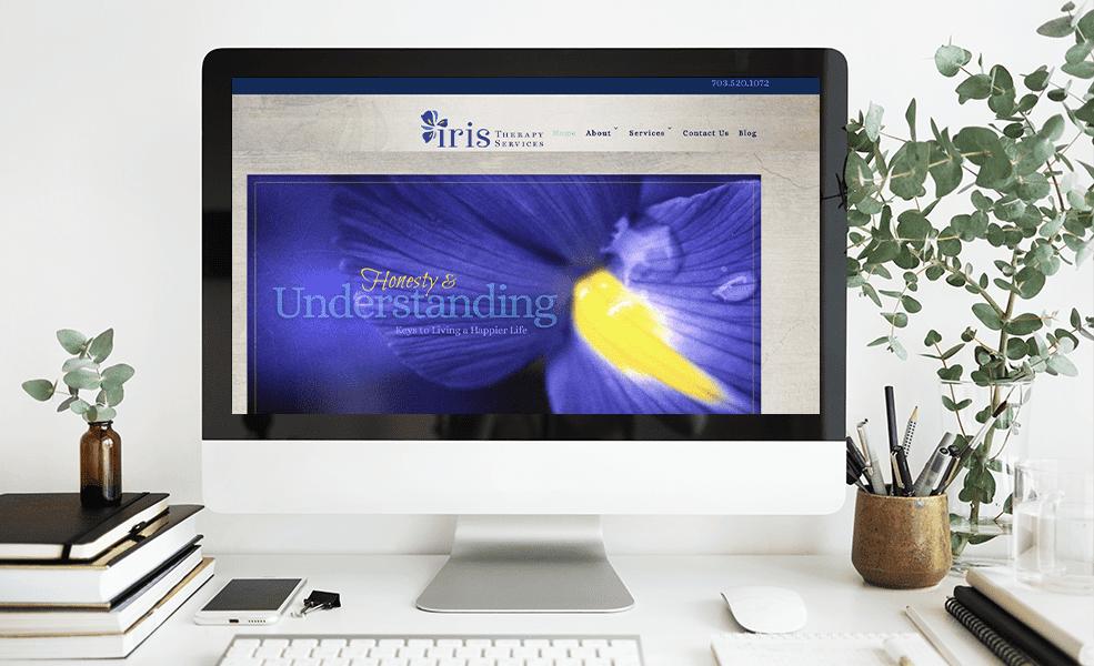 therapist website example