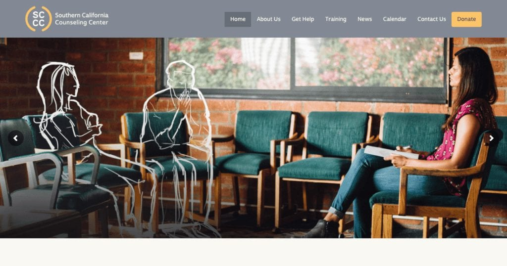 counseling center website example