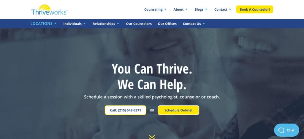 private practice website example