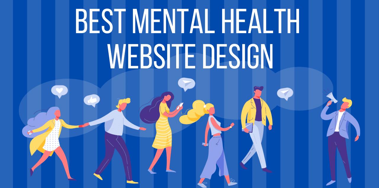 best mental health website design