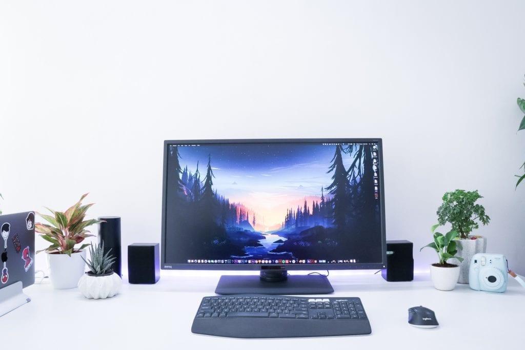 organized counselor desk
