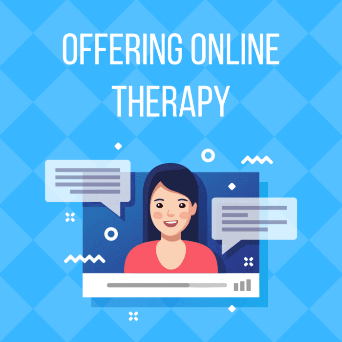 Online Therapy: How to Offer it Successfully!