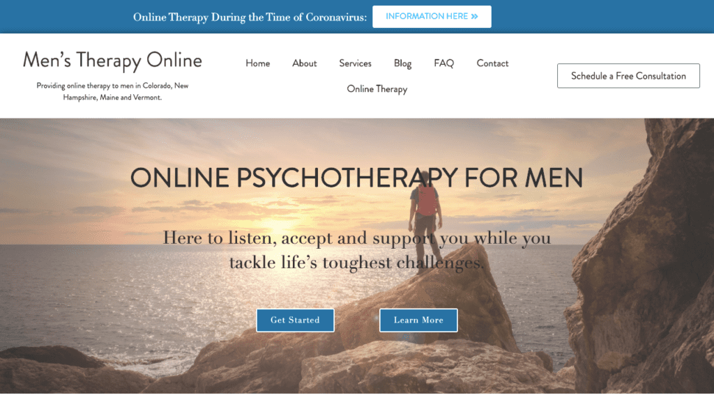 online therapy example