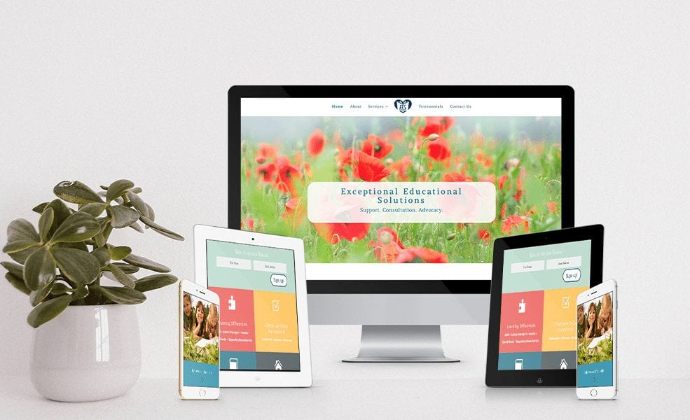 website design for therapists