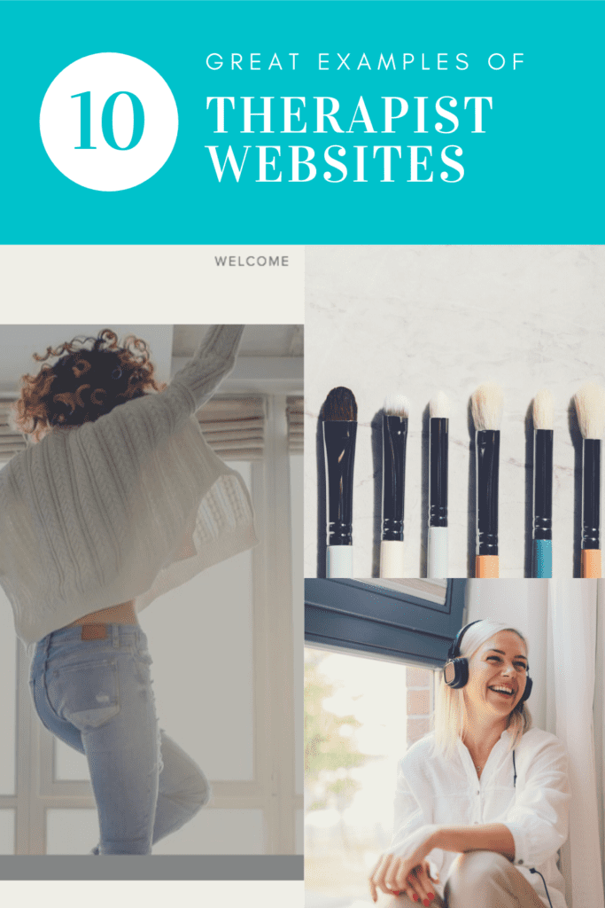 Great Examples of Therapist Websites