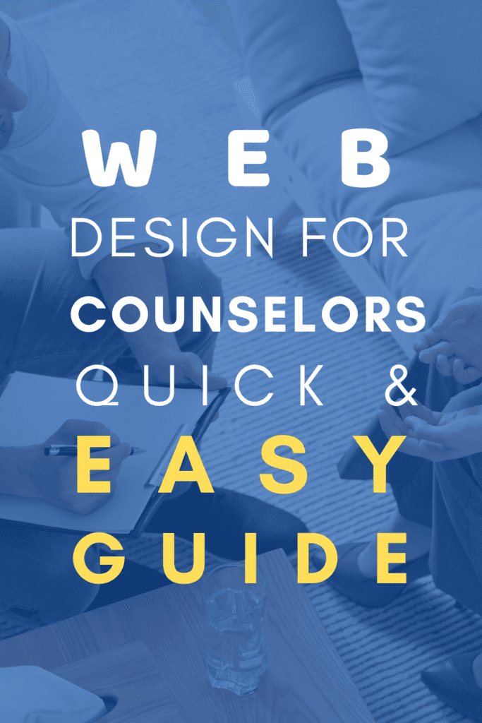 Web Design for Therapists- Easy Guide