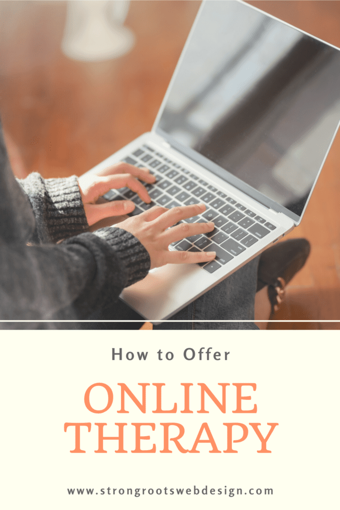 how to offer online therapy