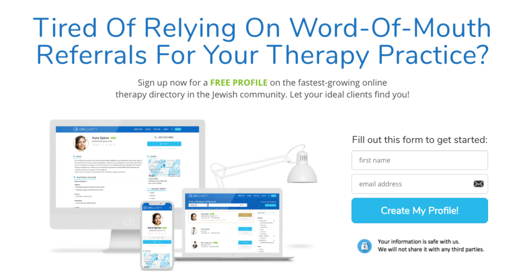 Ok Clarity Therapist directory