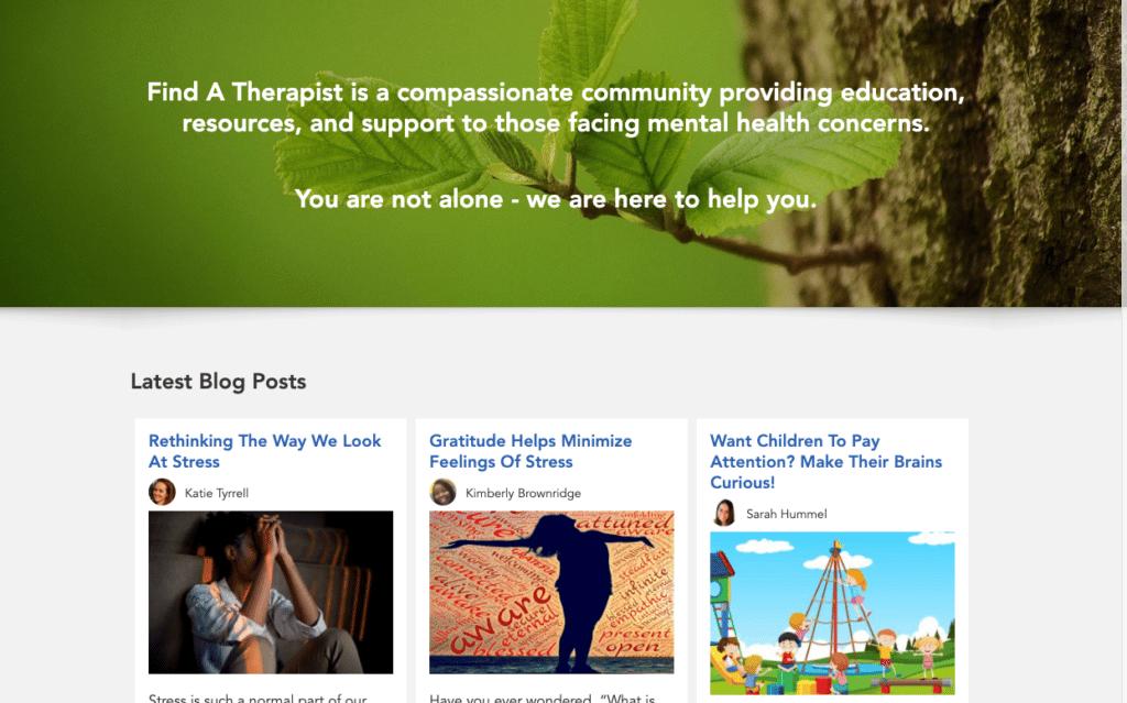 education focused therapist directory