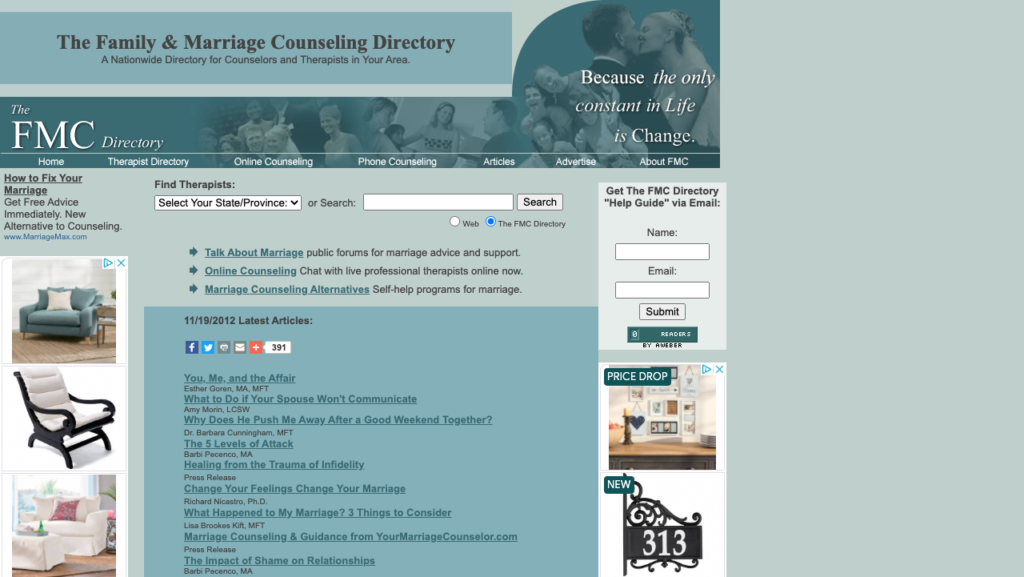 marriage therapist directory