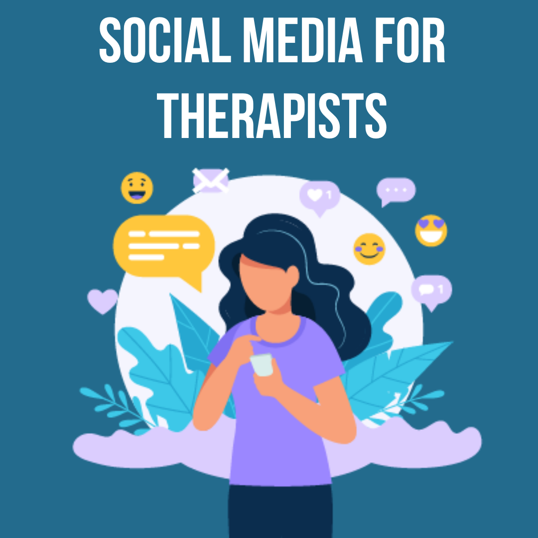 social media for therapists