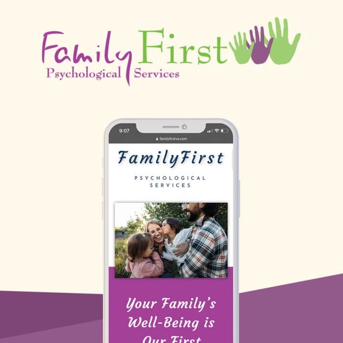 A Unique Website for Family First | Behind the Scenes